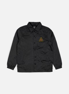 Obey - Huf Coaches Jacket, Black 1