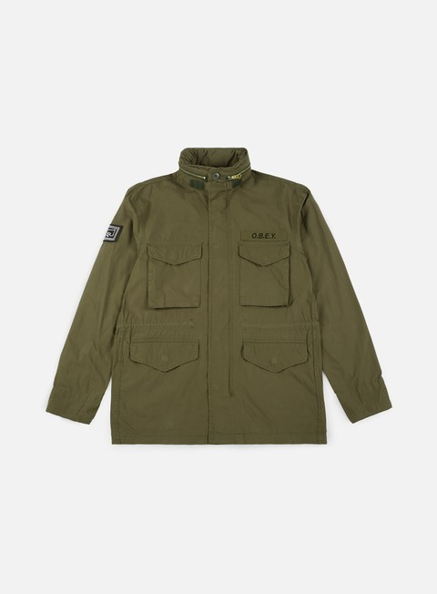 giacche obey iggy m65 jacket army