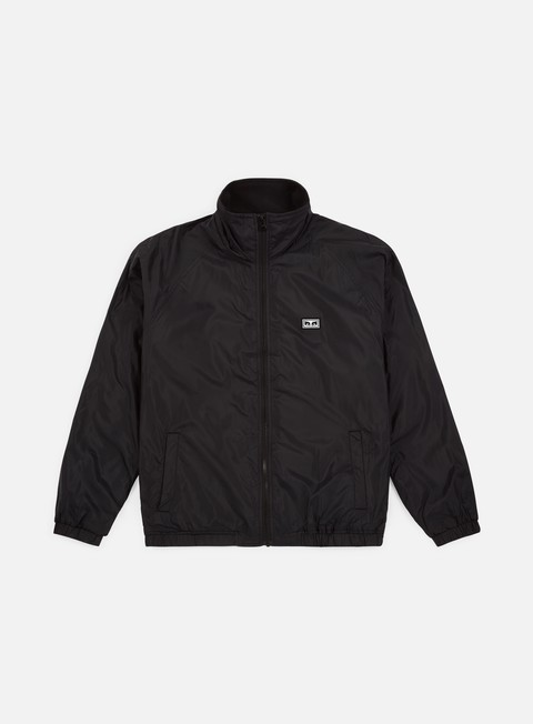 giacche obey lense jacket black
