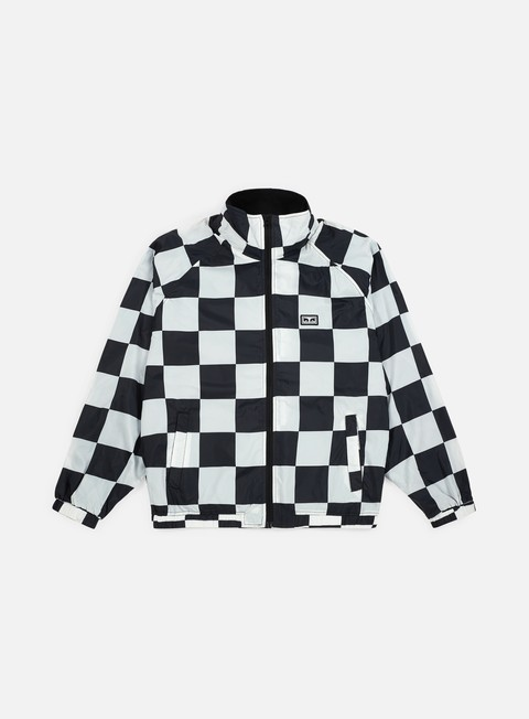 giacche obey lense jacket checker