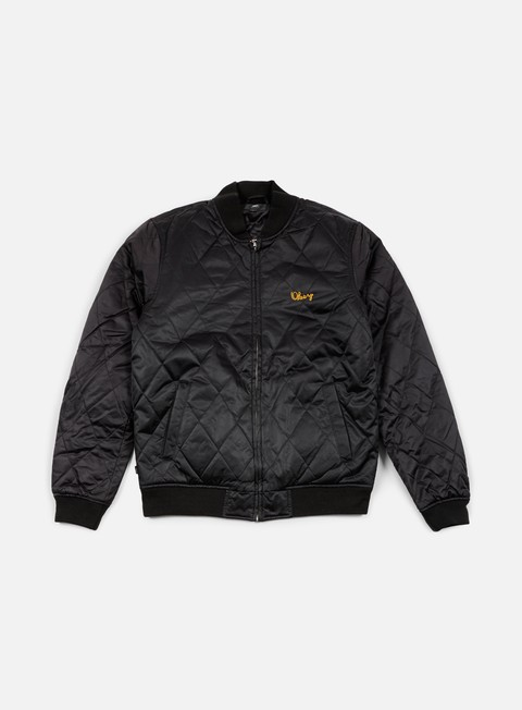 giacche obey line jacket black