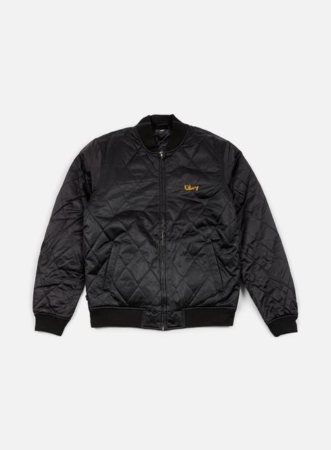 giacche obey line jacket black