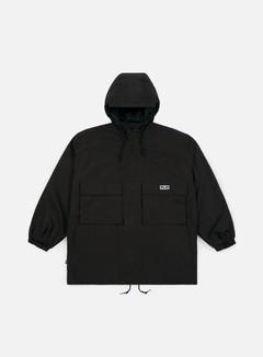 Obey - Lock Down Anorak Jacket, Black
