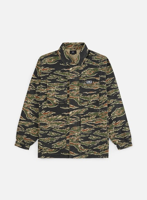 Outlet e Saldi Giacche Leggere Obey Looming BDU Jacket