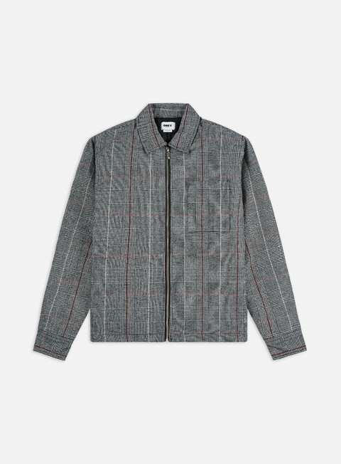 Outlet e Saldi Giacche Intermedie Obey Menace Shirt Jacket