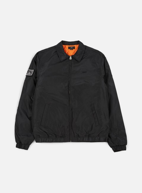 giacche obey mission jacket black
