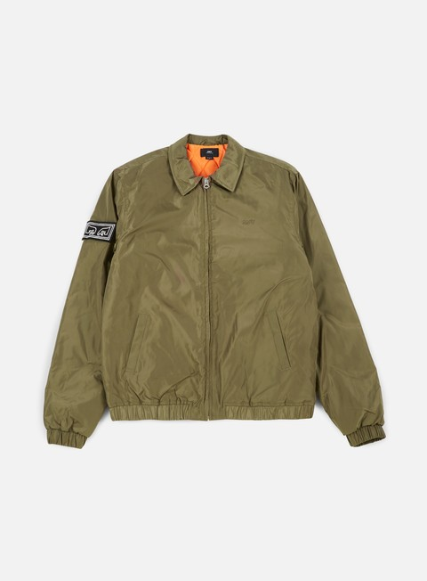 giacche obey mission jacket dusty army