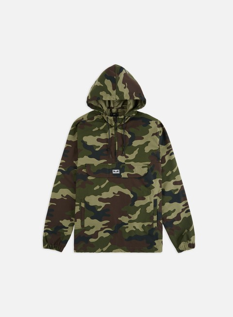 Hooded Jackets Obey Obey Intl. Cities Anorak Jacket