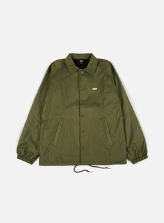 Obey - Obey Jumble Lo-Fi Coach Jacket, Army