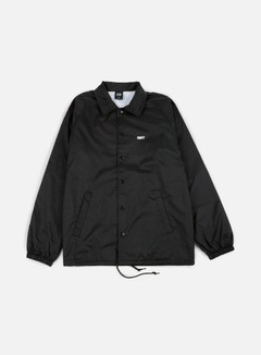 Obey - Obey Jumble Lo-Fi Coach Jacket, Black