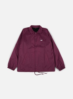 Obey - Obey Jumble Lo-Fi Coach Jacket, Raspberry