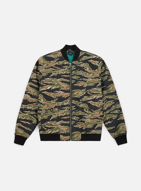 giacche obey outbound jacket tiger camo