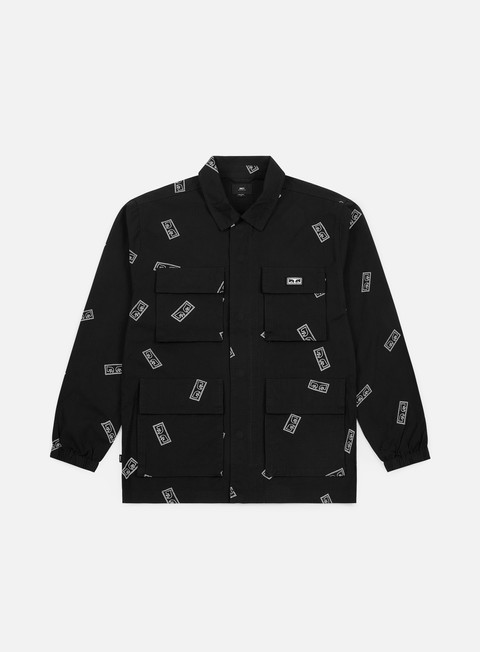 Long Sleeve Shirts Obey Rise Up BDU Jacket