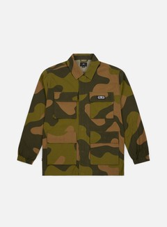 Obey - Rise Up BDU Jacket, Oversize Camo