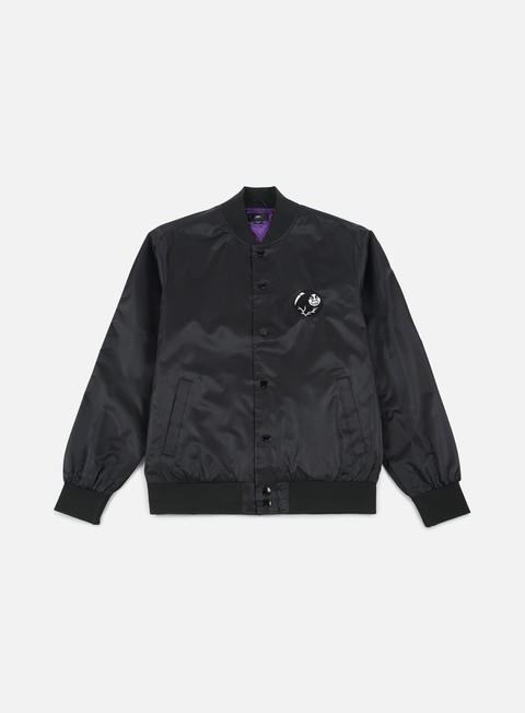 giacche obey roller jacket black