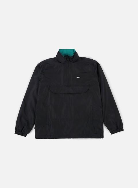 giacche obey runaround jacket black