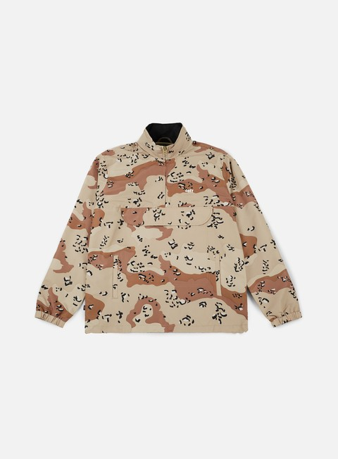 giacche obey runaround jacket choco chip camo