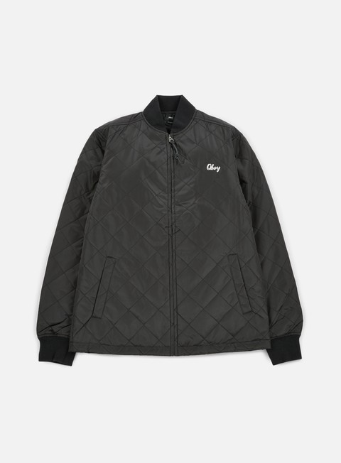 giacche obey savage hell jacket black