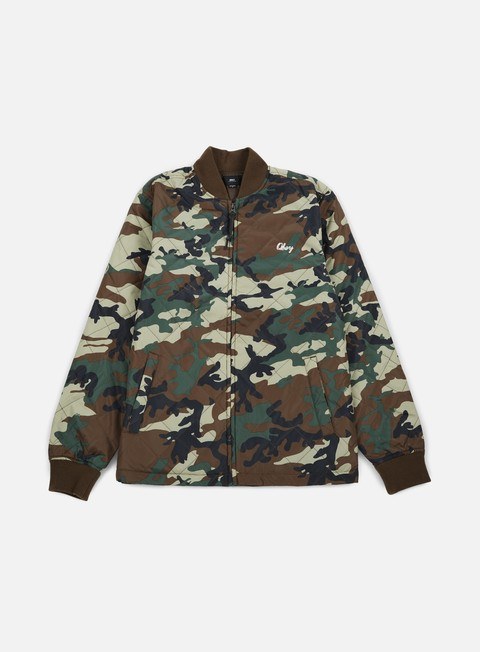 giacche obey savage jacket camo