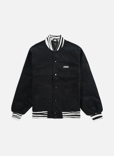 Outlet e Saldi Giacche Intermedie Obey Scotty Varsity Jacket
