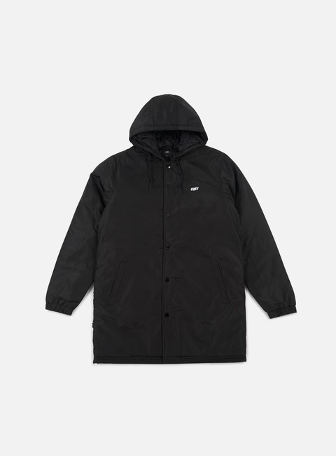 giacche obey singford stadium ii jacket black