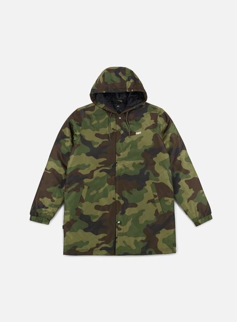 giacche obey singford stadium ii jacket camo