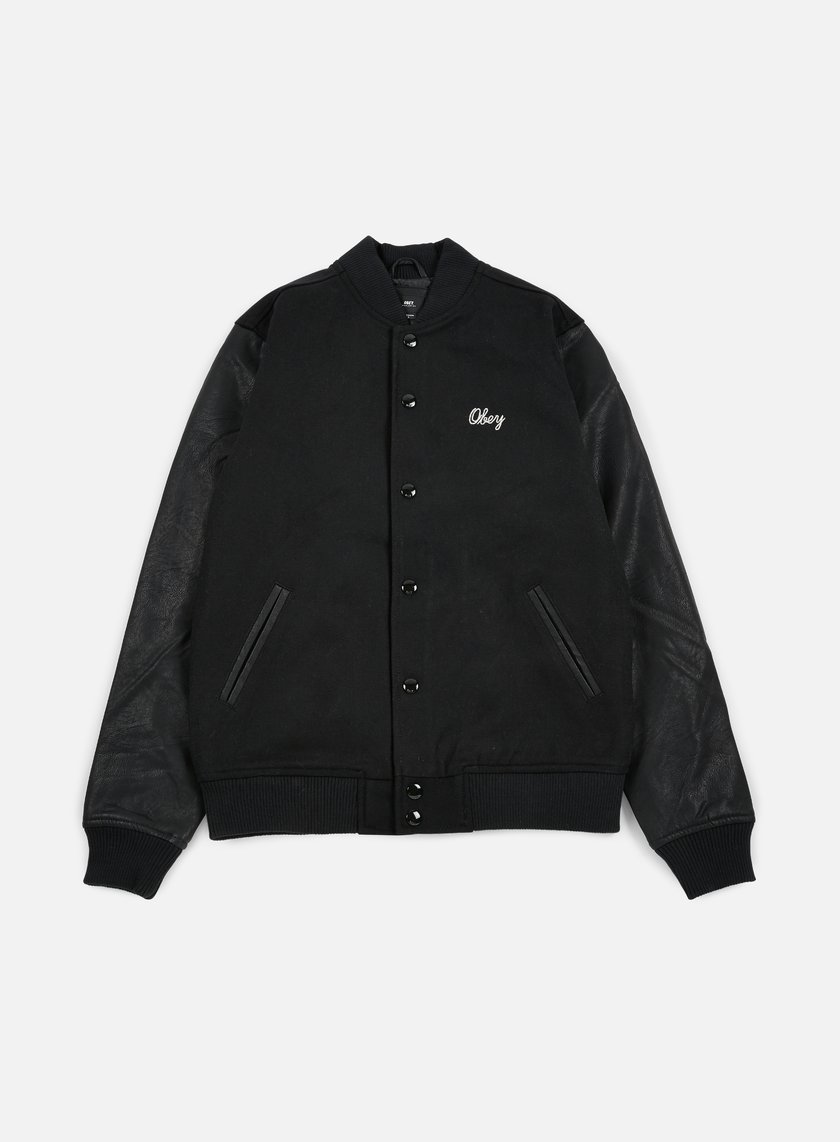 Obey - Soto Collegiate Jacket, Black