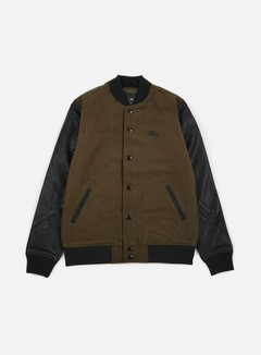Obey - Soto Collegiate Jacket, Dark Army 1