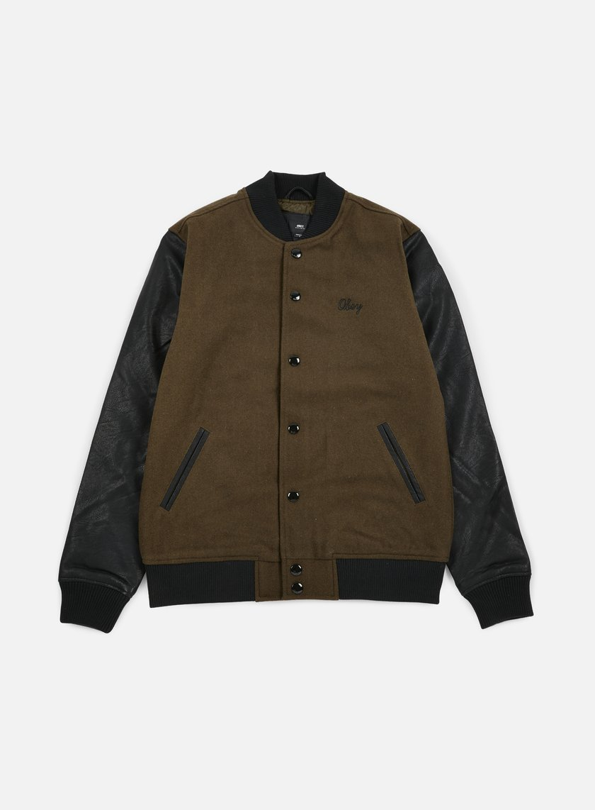 Obey - Soto Collegiate Jacket, Dark Army