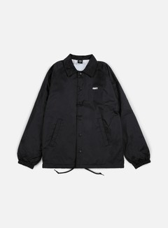 Obey - The Creeper Classic Coaches Jacket, Black 1