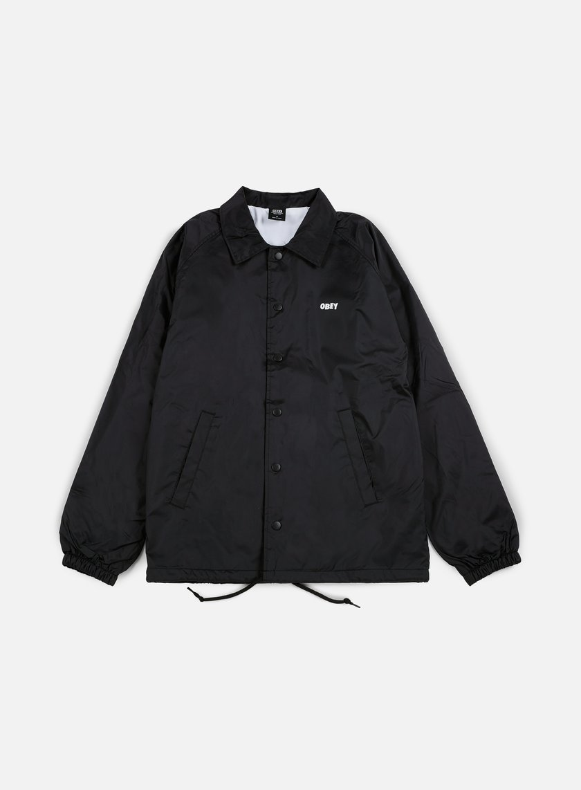 Obey - The Creeper Classic Coaches Jacket, Black