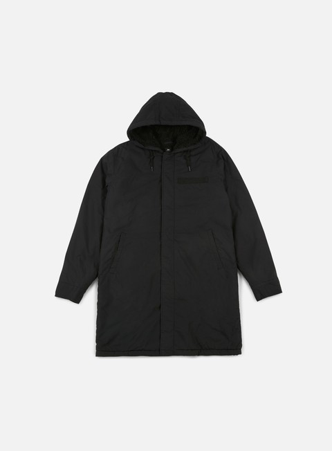 giacche obey tiller jacket black