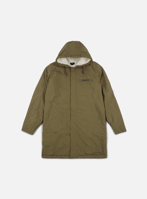 giacche obey tiller jacket dull army