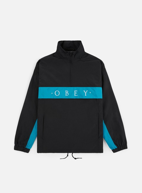 Obey Title Anorak Jacket