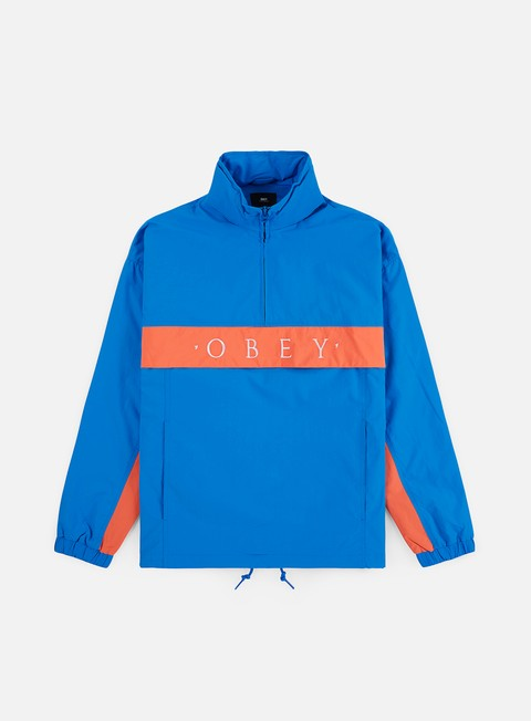 Hooded Jackets Obey Title Anorak Jacket