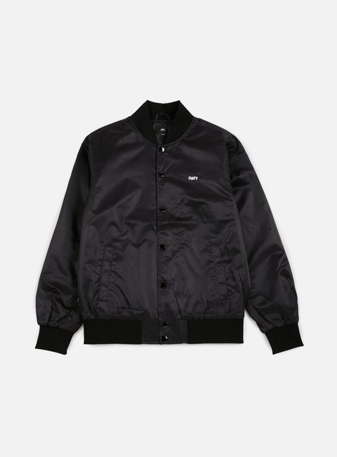 giacche obey tour city jacket black