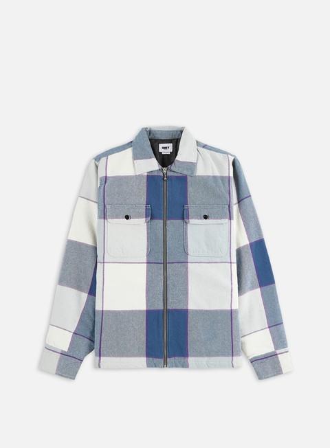 Giacche intermedie Obey Victoria Shirt Jacket