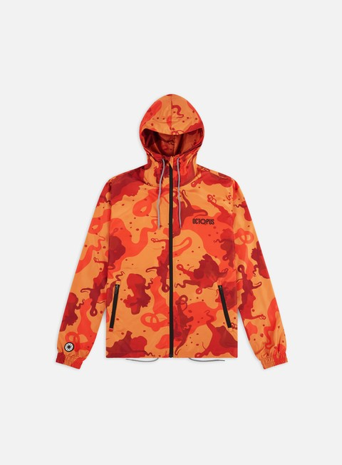Octopus Octopus Camo Windbreaker