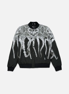 Octopus - Octopus Varsity Jacket, Grey 1
