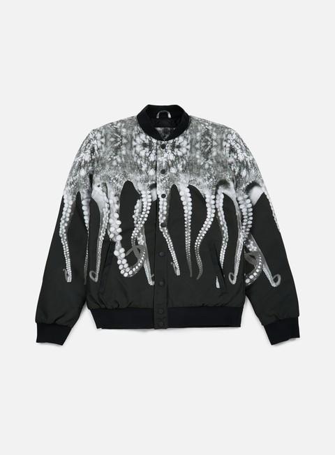 giacche octopus octopus varsity jacket grey