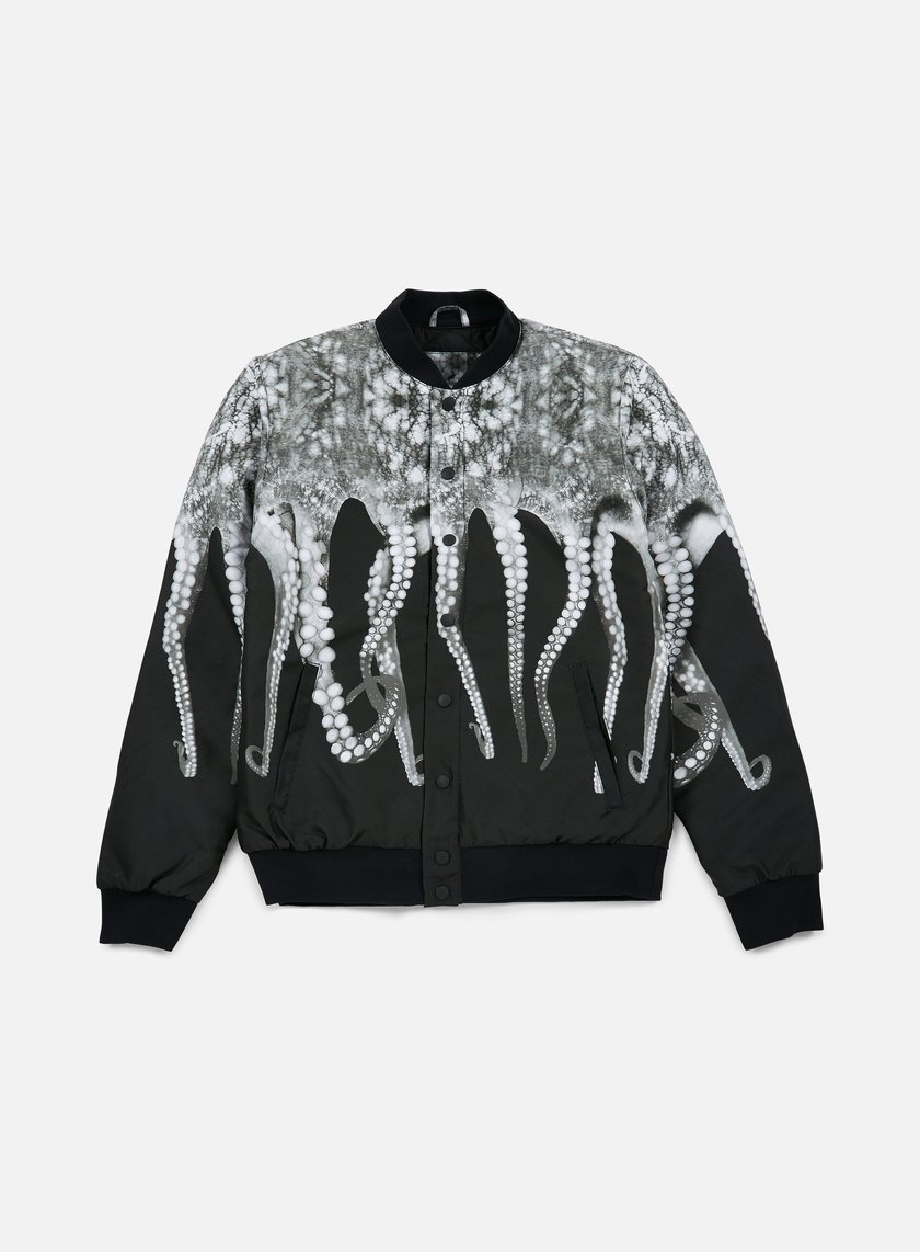 Octopus - Octopus Varsity Jacket, Grey