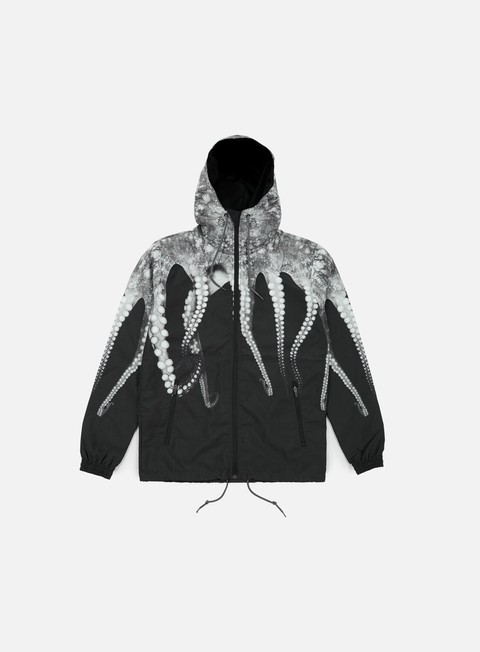 giacche octopus octopus windrunner grey