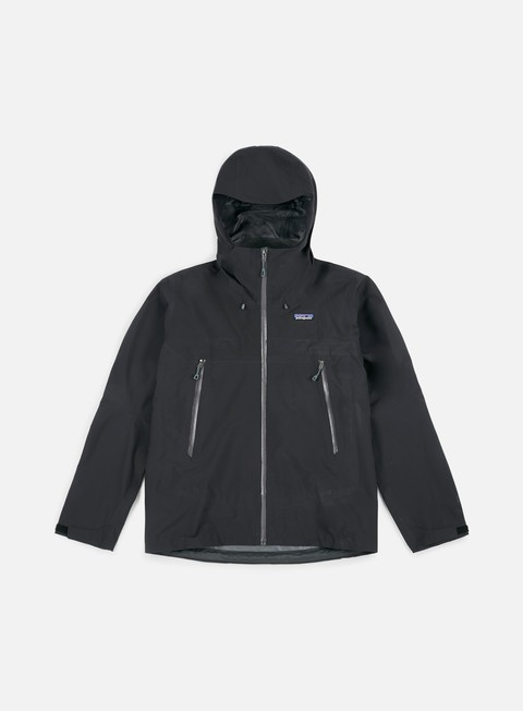 giacche patagonia cloud ridge jacket black