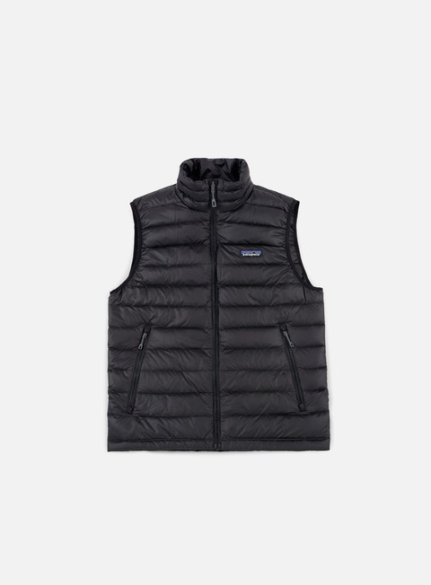 giacche patagonia down sweater vest black