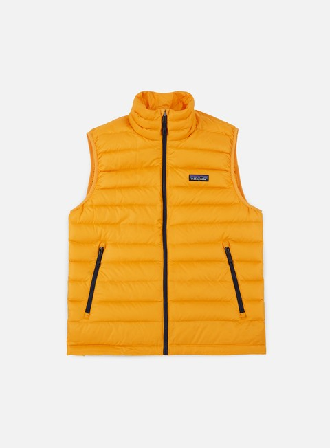 giacche patagonia down sweater vest rugby yellow