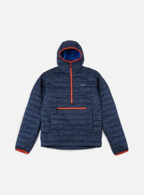 giacche patagonia nano puff bivy pullover jacket navy blue