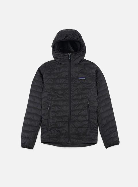 giacche patagonia nano puff hoody jacket black