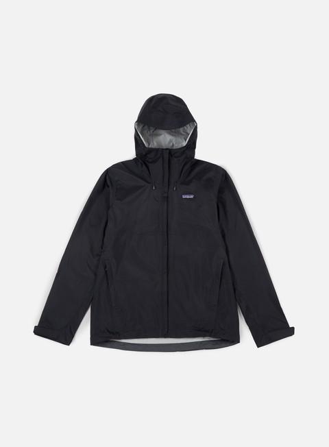 giacche patagonia torrentshell jacket black