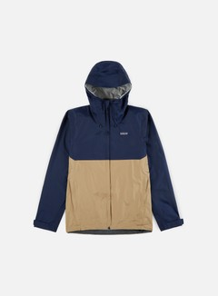 Patagonia - Torrentshell Jacket, Classic Navy W/Mojave Khaki