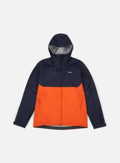Patagonia - Torrentshell Jacket, Navy Blue/Paintbrush Red